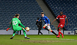 25.02.2021 Rangers v Royal Antwerp: Nathan Patterson scores for Rangers