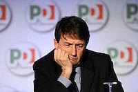 Dario Franceschini.Roma 20/1/2012 Nuova Fiera Di Roma.Assemblea Nazionale PD Partito Democratico.Foto Insidefoto Andrea Staccioli