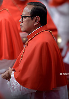 New Cardinal, Indonesian prelate Ignatius Suharyo Hardjoatmodjo, during an Ordinary Public Consistory for the creation of new cardinals on October 5, 2019 in the Vatican. Pope Francis appoints 13 new cardinals at the 2019 Ordinary Public Consistory, choosing prelates whose lifelong careers reflect their commitment to serve the marginalized and local church communities, hailing from 11 different nations and representing multiple religious orders.
