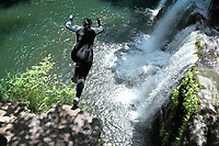2020 06 05 Waterfall County near the village of Ystradfellte in Powys, Wales, UK.