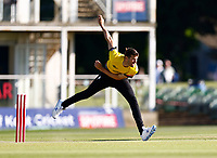 David Payne bowls for Gloucestershire during Kent Spitfires vs Gloucestershire, Vitality Blast T20 Cricket at The Spitfire Ground on 13th June 2021