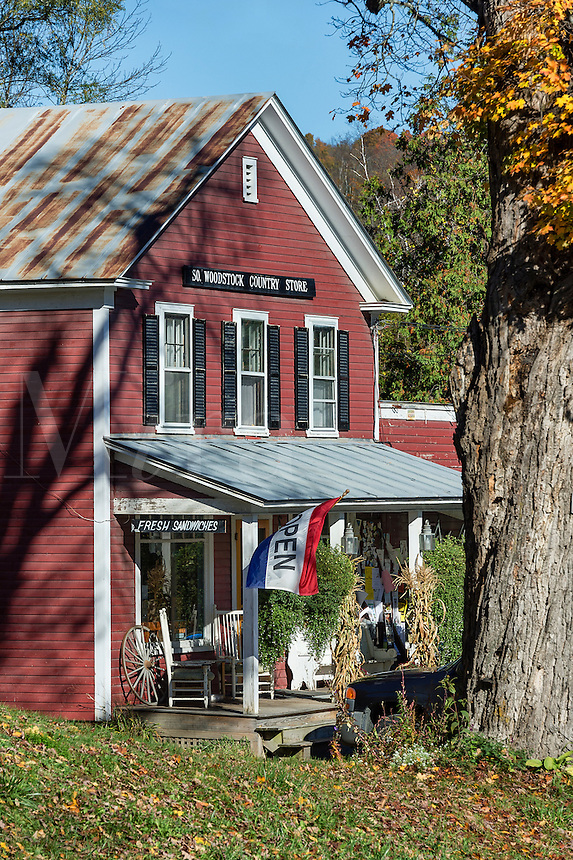 South Woodstock general store, Woodstock, Vermont, USA