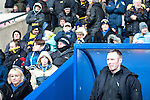 Oxford United 1 Accrington Stanley 2, 20/02/2016. Kassam Stadium, League Two. Oxford's home ground is the Kassam Stadium in Oxford and has a capacity of 12,500. United moved to the stadium in 2001 after leaving the Manor Ground, their home for 76 years. Oxford manager Michael Appleton before kick off. Photo by Simon Gill.