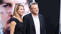 """WESTWOOD, LOS ANGELES, CA, USA - APRIL 10: Anna Julien, Wally Pfister at the Los Angeles Premiere Of Warner Bros. Pictures And Alcon Entertainment's """"Transcendence"""" held at Regency Village Theatre on April 10, 2014 in Westwood, Los Angeles, California, United States. (Photo by Xavier Collin/Celebrity Monitor)"""