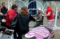 *EDL Veil Protest 11-4-11*