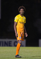 Sido Jombati of Wycombe Wanderers during the Johnstone's Paint Trophy match between Bristol Rovers and Wycombe Wanderers at the Memorial Stadium, Bristol, England on 6 October 2015. Photo by Andy Rowland.