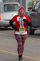 The Barnesville Santa's Spirit Sprint, Barnesville, Ohio on December 8, 2018.