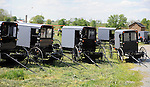 """Buggies in farm field Pennsylvania Dutch Amish country in Lancaster County PA,  Pennsylvania Dutch in Amish Country Lancaster County Pennsylvania, Amish, Horse and buggy with amish family on backroads of Pennsylvainia, buggy, amish family, buggy and horse, Commonwealth of Pennsylvania, Commonwealth of Pennsylvania, natives, Northeasterners, Middle Atlantic region, Philadelphia, Keystone State, 1802, Thirteen Colonies, Declaration of Independence, State of Independence, Liberty, Conestoga wagons, Quaker Province, Founding Fathers, 1774, Constitution written, Photography history, Fine art by Ron Bennett Photography.com, Stock Photography, Fine art Photography and Stock Photography by Ronald T. Bennett Photography ©, All rights reserved copyright Ron Bennett Photography.Com, FINE ART and STOCK PHOTOGRAPHY FOR SALE, CLICK ON  """"ADD TO CART"""" FOR PRICING,"""
