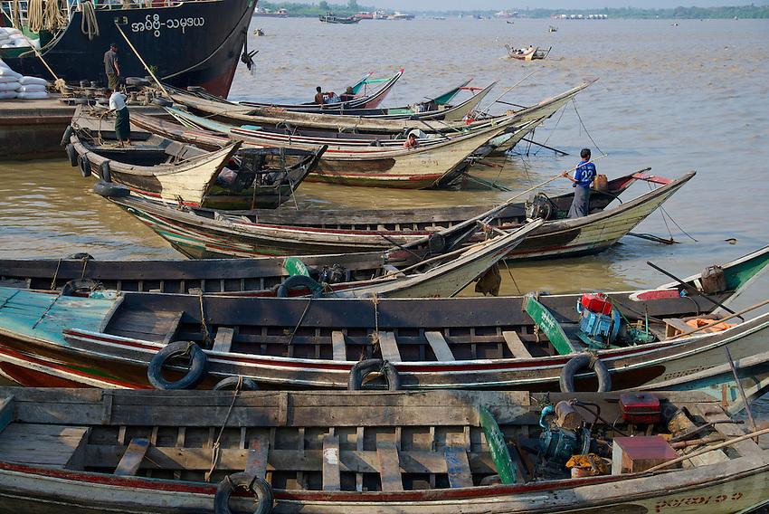 Yangon River, Yangon Myanmar