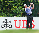 Scott Hend from Australia hits the ball during Hong Kong Open golf tournament at the Fanling golf course on 22 October 2015 in Hong Kong, China. Photo by Xaume Olleros / Power Sport Images