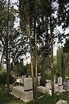 Israel, Jezreel Valley, Nahalal cemetery