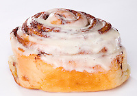 Cinnamon Bun with Cream Cheese Icing