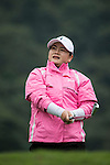 Pan Yanhong of China tees off during Round 1 of the World Ladies Championship 2016 on 10 March 2016 at Mission Hills Olazabal Golf Course in Dongguan, China. Photo by Victor Fraile / Power Sport Images