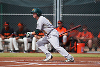 Oakland Athletics Trace Loehr (2) during an instructional league game against the San Francisco Giants on October 12, 2015 at the Giants Baseball Complex in Scottsdale, Arizona.  (Mike Janes/Four Seam Images)