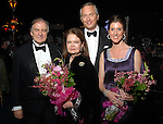 Michael Lynch and Susan L. Baker with Bobby and Phoebe Tudor at the Rice University Shepherd School of Music gala Thursday Feb. 19, 2009.(Dave Rossman/For the Chronicle)