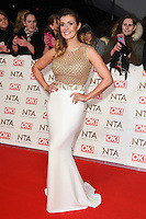 Kym Marsh<br /> at the National TV Awards 2017 held at the O2 Arena, Greenwich, London.<br /> <br /> <br /> ©Ash Knotek  D3221  25/01/2017