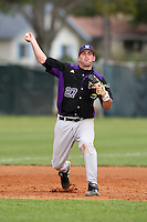 February 27, 2010:  First Baseman Chris Lashmet of the Northeastern Wildcats during the Big East/Big 10 Challenge at Raymond Naimoli Complex in St. Petersburg, FL.  Photo By Mike Janes/Four Seam Images