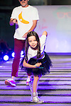 Jordi Rebellon and his daughter during the fashion show By Nerea Garmendia of his 2nd Anniversay at COAM in Madrid. June 06. 2016. (ALTERPHOTOS/Borja B.Hojas)