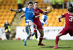 St Johnstone v Aberdeen…13.12.17…  McDiarmid Park…  SPFL<br />Paul Paton and Andy Considine<br />Picture by Graeme Hart. <br />Copyright Perthshire Picture Agency<br />Tel: 01738 623350  Mobile: 07990 594431