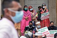 Protesta e preghiera in Campidoglio per libertà di culto e permessi di soggiorno