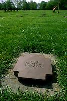 - Normandy, sites of allied landing of June 1944, German military cemetery of La Cambe....- Normandia, i luoghi degli sbarchi alleati del giugno 1944, cimitero militare tedesco di La Cambe