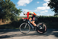 6th October 2021 Womens Cycling Tour, Stage 3. Individual Time Trial; Atherstone to Atherstone. Natalie Grinczer.