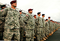 U.S. Army soldiers stand at attention during opening ceremonies of the Coca-Cola Classic 900 NASCAR Race at the Lowe's Motor Speedway, in Concord, NC, held on Memorial Day 2009. Driver David Reutimann won his first Cup race during the rain-shortened event, held May 25, 2009. NASCAR's longest scheduled race went only 227 laps, or 340.5 miles, before officials ended it because of rain. The 2009 race was the 50th running of the Coca-Cola 600. Ryan Newman and Robby Gordon finished second and third respectively.