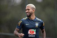 10th November 2020; Granja Comary, Teresopolis, Rio de Janeiro, Brazil; Qatar 2022 qualifiers; Douglas Luiz of Brazil during training session in Granja Comary