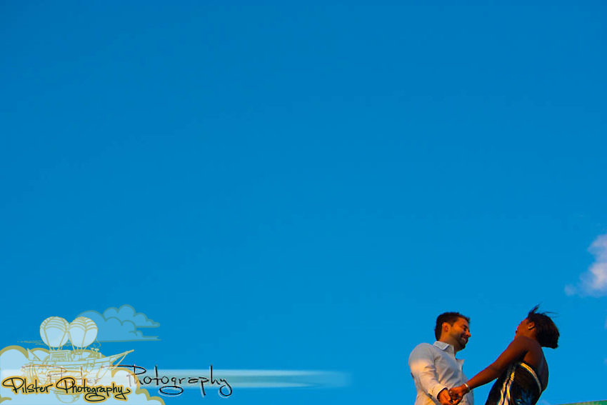 Rhiva Cooper and Joshua Akey on Saturday, October 2, 2010, during their engagement session in Daytona Beach, Florida. Their wedding is October 10, 2010. (Chad Pilster, PilsterPhotography.net)