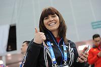 OLYMPICS: SOCHI: Adler Arena, 18-02-2014, Men's 10.000m, Heather Richardson (USA), ©photo Martin de Jong