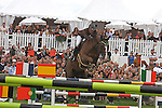 International Jumping in Chantilly France..Penelope Leprevost (FRA), riding Topinanbour.4th place