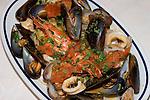 Pasta and Seafood, Al Vantaggio Restaurant, Rome, Italy, Europe