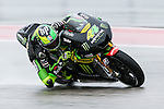 Pol Espargaro (44) in action during the first practice session of the Red Bull Grand Prix of the Americas race at the Circuit of the Americas racetrack in Austin,Texas.