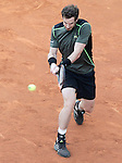 Andy Murray, Great Britain, during Madrid Open Tennis 2015 Final match.May, 10, 2015.(ALTERPHOTOS/Acero)