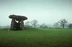 St Lythams and Tinkinswood Burial Chamber. St Nicholas, South Glamorgan Wales.