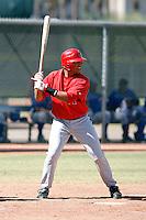 Anel De Los Santos - Los Angeles Angels, 2009 Instructional League.Photo by:  Bill Mitchell/Four Seam Images..