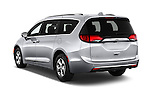 Car pictures of rear three quarter view of 2017 Chrysler Pacifica Touring-L-Plus 5 Door Minivan Angular Rear