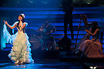 """Dec. 31, 2009 - J-Pop singer, Nana Mizuki, performs on stage during the last day of rehearsals for 'Kohaku Uta Gassen,' or also more commonly known as 'Kohaku.' Produced by the Japanese public broadcaster, NHK, this annual music show airs on New Year's Eve and ends shortly before midnight, where everyone on air pauses to say """"Happy New Year."""" The 'Red and White Song Battle' separates the most popular music artists during each given year into teams of red and white: the red team consists of all female artists and the white team is all male artists. For an artist to perform on Kohaku, it is a great honor as only the most successful enka singers and J-Pop artist are strictly invited to perform by invitation only. Today, for a J-Pop artist or enka singer to perform on Kohaku, is most notably recognized to be a big highlight in a singer's career due to the show's large reach of audience during New Year's Eve."""
