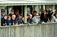 Fans watch the Central League football match between Miramar Rangers and Lower Hutt AFC at David Farrington Park in Wellington, New Zealand on Saturday, 10 April 2021. Photo: Charley Lintott / lintottphoto.co.nz