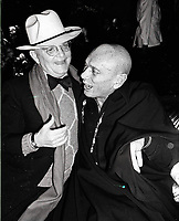 Capote Brenner6834.JPG<br /> New York, NY 1978 FILE PHOTO<br /> Truman Capote, Yul Brenner<br /> Studio 54<br /> Digital photo by Adam Scull-PHOTOlink.net<br /> ONE TIME REPRODUCTION RIGHTS ONLY<br /> NO WEBSITE USE WITHOUT AGREEMENT<br /> 718-487-4334-OFFICE  718-374-3733-FAX