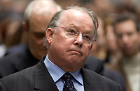 File - april 29 . 2002, Montreal, Quebec, Canada; <br /> <br /> Bernard Landry, Quebec Premier and Leader of the Parti Quebecois seen in an April 2002 File Photo,
