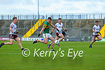 Sean O'Shea, Kerry has a shot at goal during the Allianz Football League Division 1 South Round 1 match between Kerry and Galway at Austin Stack Park in Tralee.