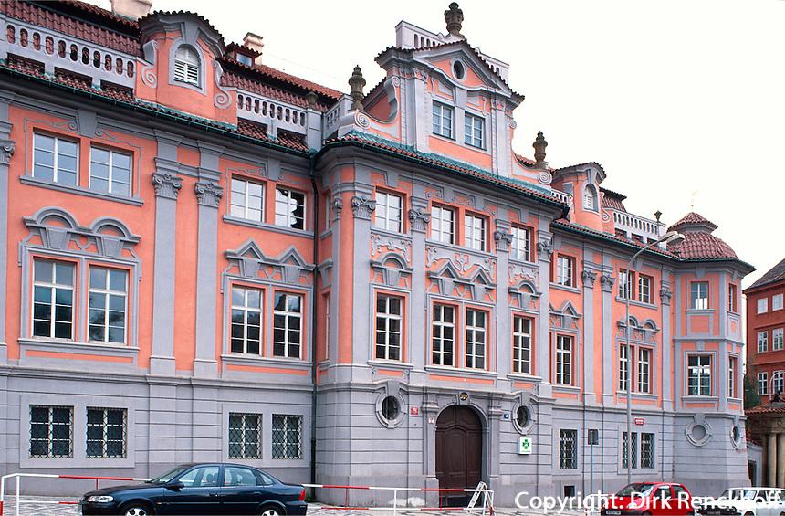Fausthaus am Karlsplatz, Prag, Tschechien, Unesco-Weltkulturerbe