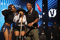 NEW YORK, NY- SEPTEMBER 14: Vita, Lil' Mo and Ja Rule pictured at Fat Joe And Ja Rule Verzuz Battle at The Hulu Theater at Madison Square Garden in New York City on September 14, 2021. Credit: Walik Goshorn/MediaPunch
