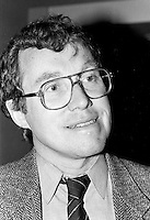 November 28, 1987 File Photo - Montreal, Quebec, CANADA - NDP (New Democratic Party of Canada) Convention