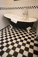 Asie/Israël/Judée/Jérusalem: Hotel American Colony -détail d'une salle de bain
