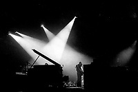 PINK FLOYD kick off their DARK SIDE OF THE MOON tour at the Montreal Forum, March 12, 1973<br /> <br /> Photo : Agence Quebec Presse  -  Alain Renaud