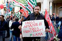 #Romanonsiliquida, manifestazione in Campidoglio Cgil, Cisl Uil