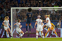 PARIS, FRANCE - JUNE 28: Wendie Renard #3 during a 2019 FIFA Women's World Cup France quarter-final match between France and the United States at Parc des Princes on June 28, 2019 in Paris, France.
