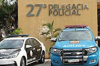 Rio de Janeiro (RJ), 27/04/2021 - Crime-Rio - Apreensões realizadas pela Polícia durante operação na noite desta segunda-feira e manhã desta terça-feira (27) no Rio de Janeiro na 27. Delegacia de Polícia. Segundo a PM, chefe do tráfico e mais um suspeito foram mortos no Morro dos Prazeres na noite de segunda (26), onde outras 4 pessoas foram baleadas. Também houve 4 feridos no Juramento, além de tiros na Providência e na Mangueira.
